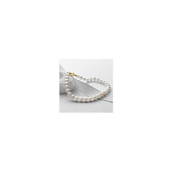 9ct Gold Freshwater Pearl Bracelet