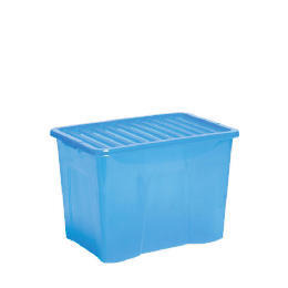 80L box with lid blue Reviews