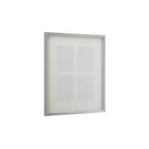 Photo of Tesco Block Silver Frame 4 Aperture Home Miscellaneou
