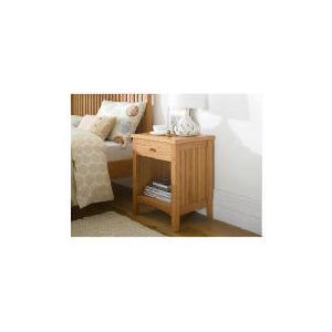 Photo of Illinois Bedside Table, Oak Furniture