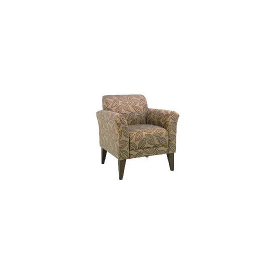 Metro Occasional Leaf Chair, Charcoal