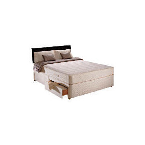 Photo of Sealy Classic Ortho Superior Double 2 Drawer Divan Set Bedding