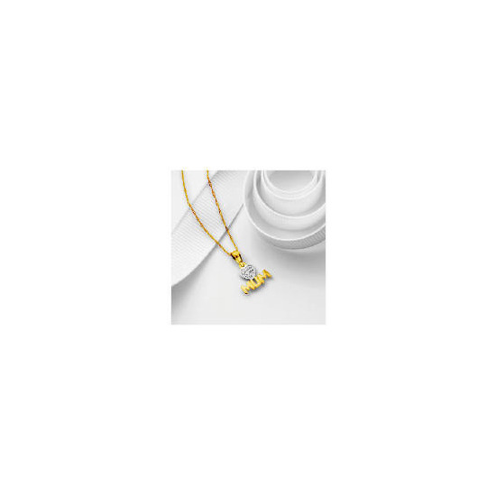 9ct Gold Love Mum Pendant