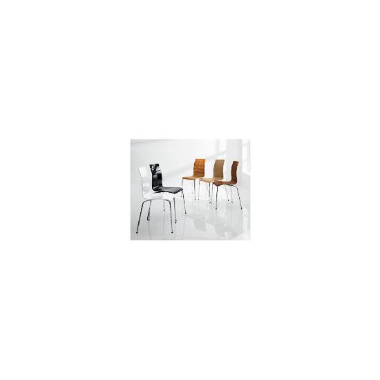 Pair of Padova Chairs, White Gloss