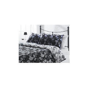 Photo of Tesco Dotty Print Duvet Set Kingsize, Black Bed Linen