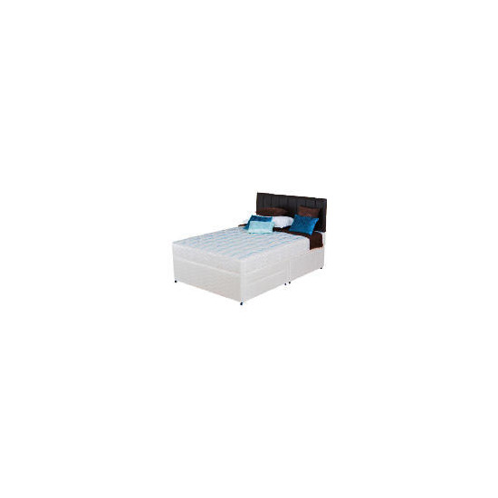 Silentnight Miracoil 3-Zone Montana 4Ft 2 Drawer Divan Set