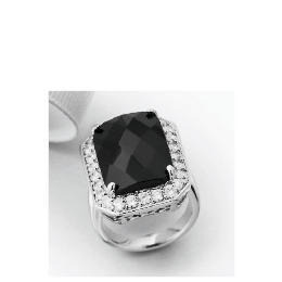 Pave Back to Black Solitaire Ring - Large Reviews