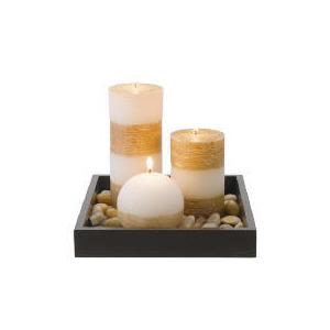Photo of Tesco Candle Garden Set With Ball Candle Home Miscellaneou