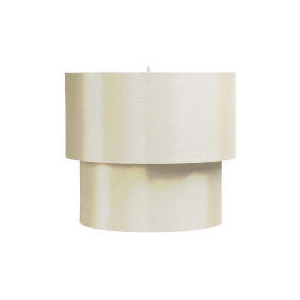 Photo of Tesco Two Tier Satin Shade, Gold Lighting