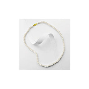 Photo of 9CT Gold Freshwater Pearl Necklace Jewellery Woman