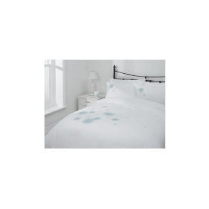 Photo of Tesco Evie Applique Duvet Set Kingsize, White Bed Linen