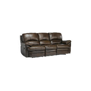 Photo of Apollo Large Leather Recliner Sofa, Brown Furniture
