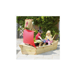 Photo of TP Jolly Roger Sandpit - Tesco Exclusive Toy