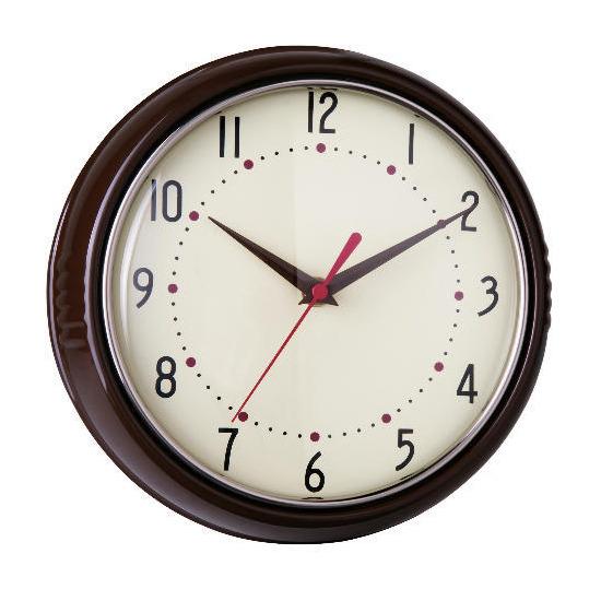Tesco Retro Chocolate Clock