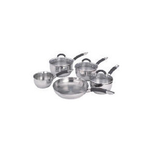 Photo of Ready Steady Cook Bistro 5 Piece Pan Cookware