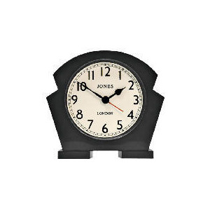 Photo of Jones & Co Jazz Black Mantel Clock Clock