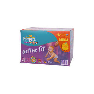 Photo of Pampers Active Fit Mega Pack Maxi 102 Baby Product