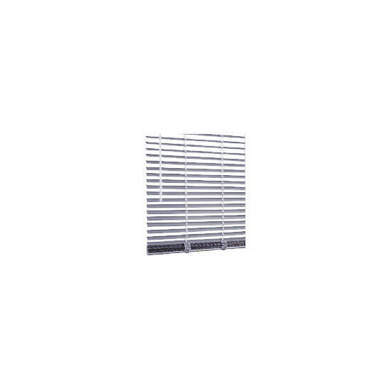 Aluminium Venetian Blind 120cm, Silver