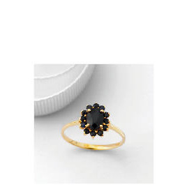 9ct Gold Sapphire Cluster Ring, Q Reviews