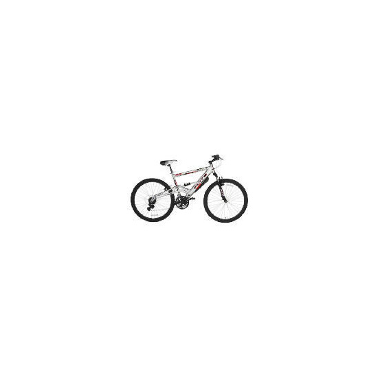 "Flite Velocity 26"" dual suspension bike"