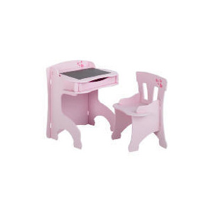 Photo of Loveheart Blackboard Desk & Chair Set Furniture