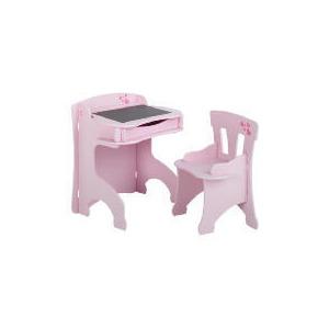 Photo of Loveheart Blackboard Desk & Chair Set Furniture
