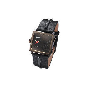 Photo of Base Mens Black Analogue and Digital Watch Watches Man