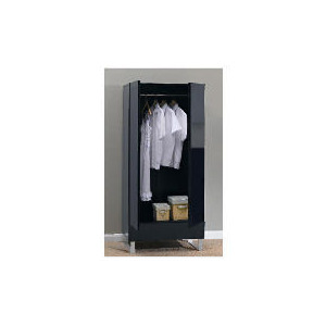 Photo of Costilla Double Wardrobe, Black Furniture