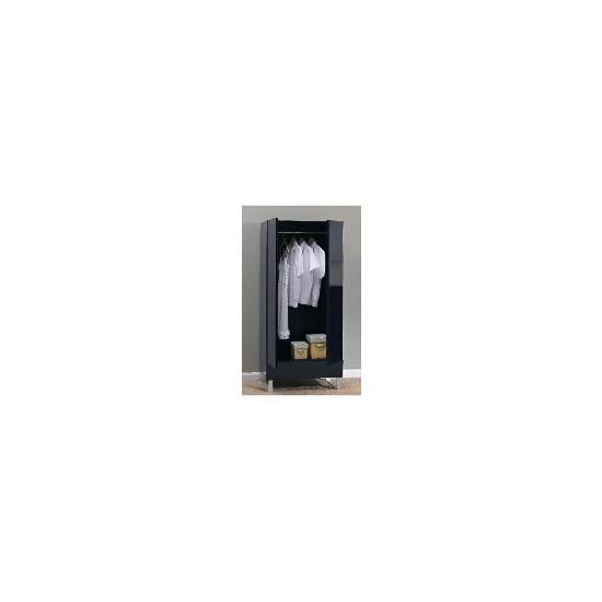 Costilla Double Wardrobe, Black