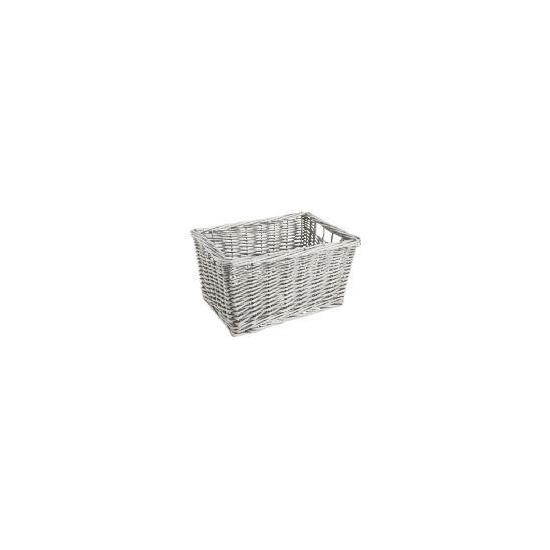 Tesco Willow shelf basket white