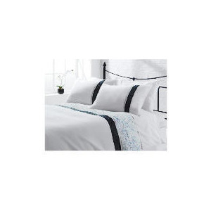 Photo of Tesco Cassie Embroidered Duvet Set Double, White Bed Linen