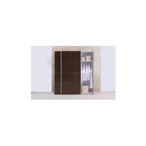Photo of Monza Large Sliding Wardrobe, Dark Chocolate Finish Furniture