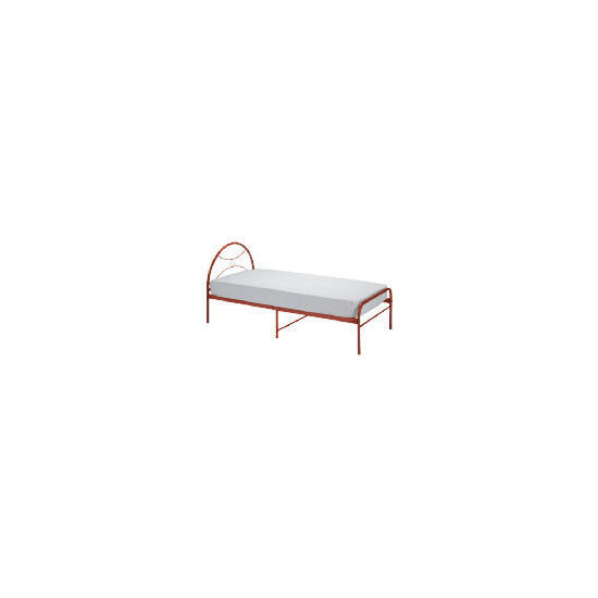 Memo Metal Bed Red