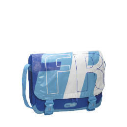 Free Rider Single Pannier Bag - Blue/White Reviews