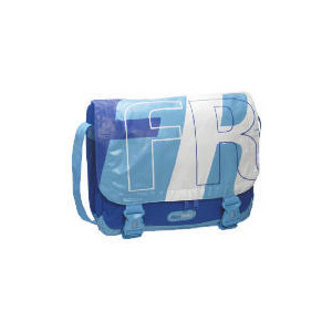 Photo of Free Rider Single Pannier Bag - Blue/White Cycling Accessory