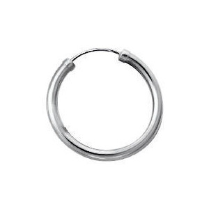 Photo of 9CT White Gold Sleeper Jewellery Woman