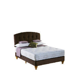 Rest Assured Choices Luxury King Shallow Divan Set In Cocoa Reviews