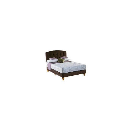 Rest Assured Choices Luxury King Shallow Divan Set In Cocoa