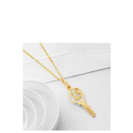 9ct Gold '18' Key Pendant Reviews