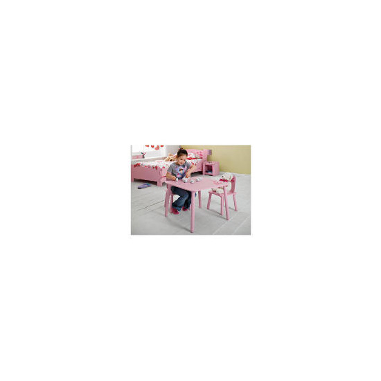 Loveheart Table And 2 Chair Set
