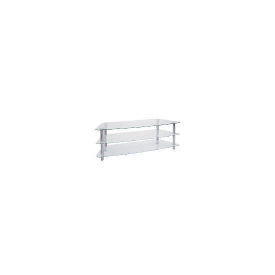 Mercury 3 Shelf Unit Clear