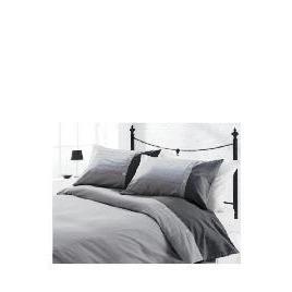 Tesco Herringbone Print Duvet Set Kingsize, Charcoal Reviews