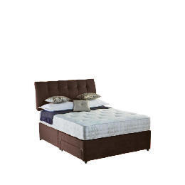 Rest Assured Choices Luxury King Storage Divan Set In Cocoa Reviews