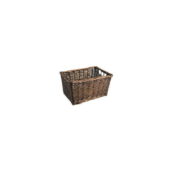 Tesco Willow shelf basket - dark natural