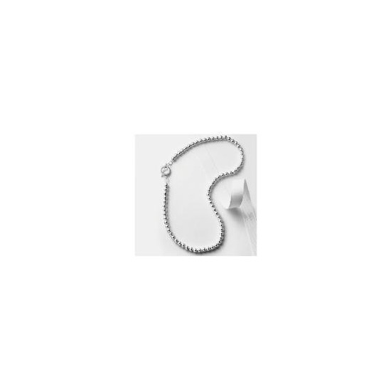 Silver 6mm Ball Necklace
