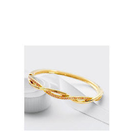 Pave Champagne Twist Bangle Reviews