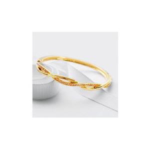 Photo of Pave Champagne Twist Bangle Jewellery Woman