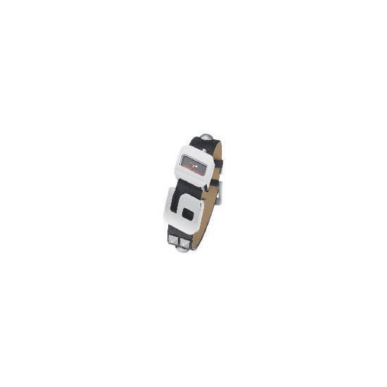 Miss Sixty Black Studded Strap Watch