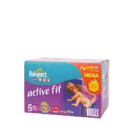 Pampers Active Fit Mega Pack Junior 93 Reviews