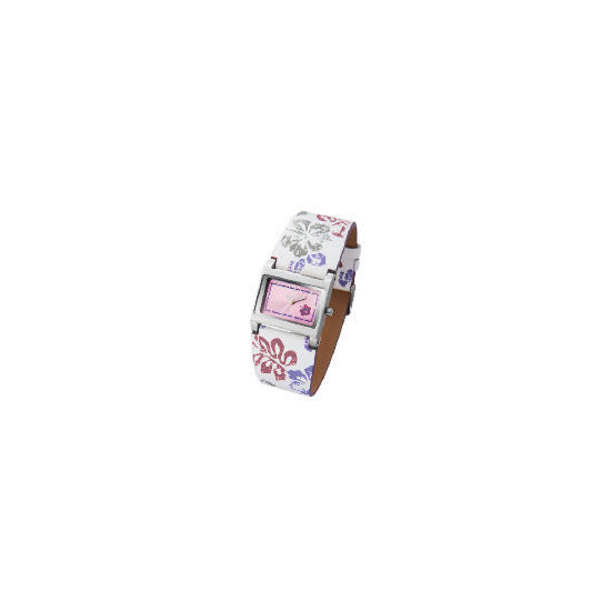 Kahuna Ladies Flower Print Watch